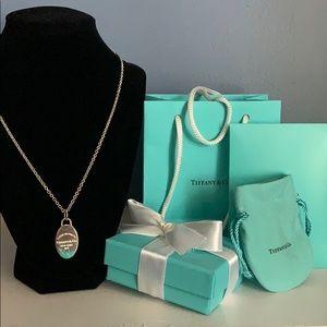 Tiffany & Co Return to Tiffany Pendant and Chain